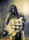 A Wichita Indian with Child. #2.