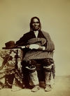 The Governor of Isleta in 1868.