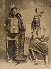Two Oglala Indians.