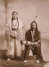 An Arapaho Couple.