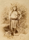 Bonito, a White Mountain Apache Chief.