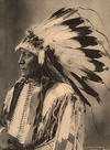 Chief Hollow Horn Bear, Sioux.