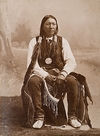 Cloud Chief, a Southern Cheyenne Indian.