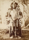 Chief Crazy Bear, Sioux.