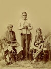 Three Navajo Indians.