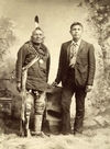 Two Pawnee Indians.
