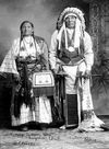 Henry Roman Nose and Wife.