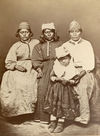Modoc Indian Family.