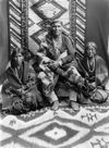 Judge Clah and Wives, Navajo.