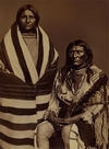 A Blackfoot Indian Couple.