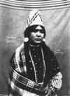 A Cayuse Indian Woman.