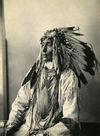 Kill Spotted Horse, an Assiniboin Indian.