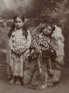 Two Kiowa Children.