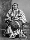 The Wife of George Bent, a Southern Cheyenne.