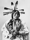 Man Packs The Eagle, a Cuthead Sioux.