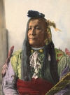 Mountain Chief of the Blackfeet Nation.
