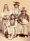 Four Nez Perce Men.