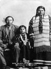 Nicholas Black Elk with Family, Oglala.