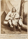 A Sioux Indian known as One Who Forbids His House.