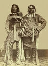 Two Ute Indians; Sappix and Son.