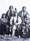 Sitting Bull with Family.