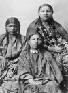 Three Southern Cheyenne Girls.