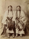 Two Southern Cheyenne Sisters.