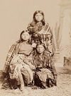 Three Kiowa Women.