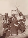 Three Sioux Indians.