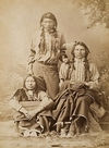 Three Young Sioux Indians.