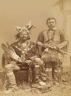 Two Caddo Chiefs.