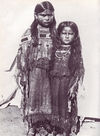 Two Comanche Girls From Oklahoma.