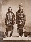 Two Ponca Indians.