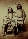 Two Shoshonee or Snake Indians.