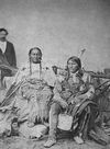 Two Strike and Wife of the Sicangu Nation.