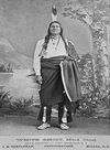 White Ghost, Head Chief of The Lower Yanktonai Sioux.
