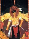Kachina Paintings. Carol Bowles - Buffalo Dancer Of The Red Willow People