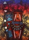 Kachina Paintings. Dan Lomabaff - Tewa Northern Balance