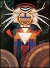 Kachina Paintings. Poteet Victory - Kachina Deer Ritual