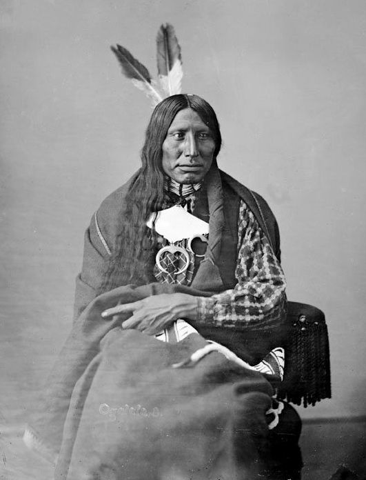 Afraid of Eagle - Oglala 1872.