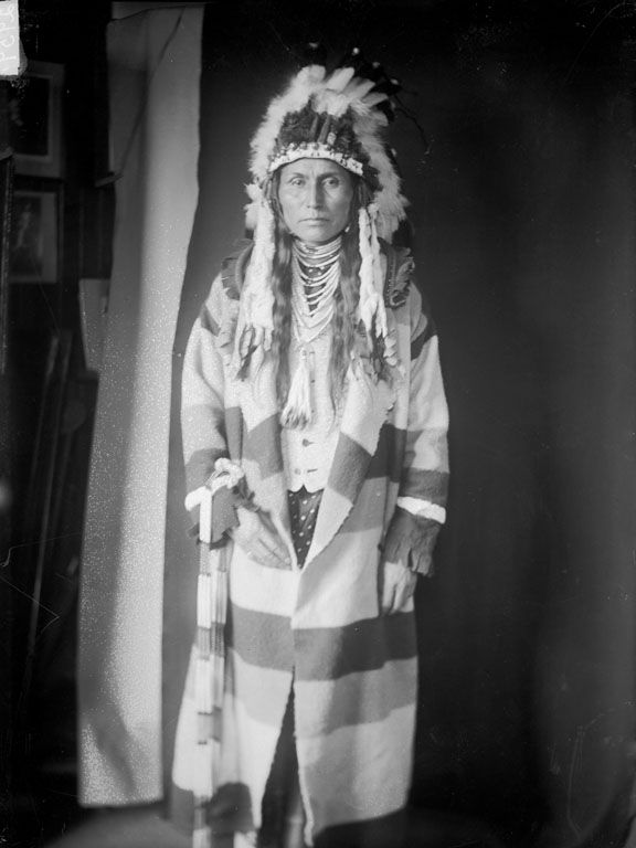 Albert Waters - An American Indian of the Nez Perce Nation 1906.
