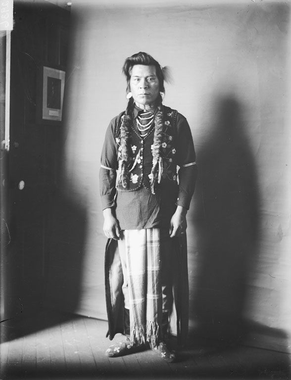 Andrew Whitman - Nez Perce 1903.