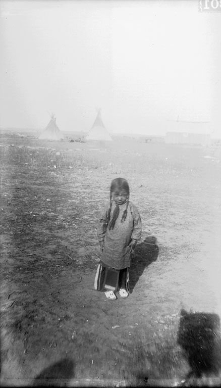 Arapaho Boy - An American Indian Boy of the Arapaho Nation 1892.
