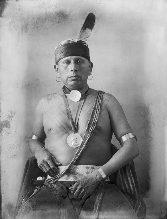 Bacon Rind - Osage 1900 [a].