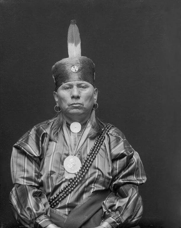 Bacon Rind - An American Indian of the Osage Nation 1916.