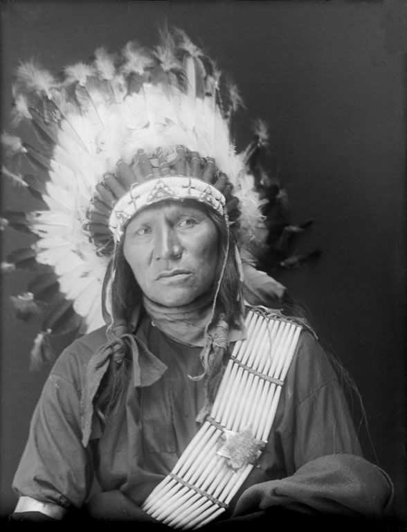 Bear Shield - An American Indian of the Oglala Nation 1910.