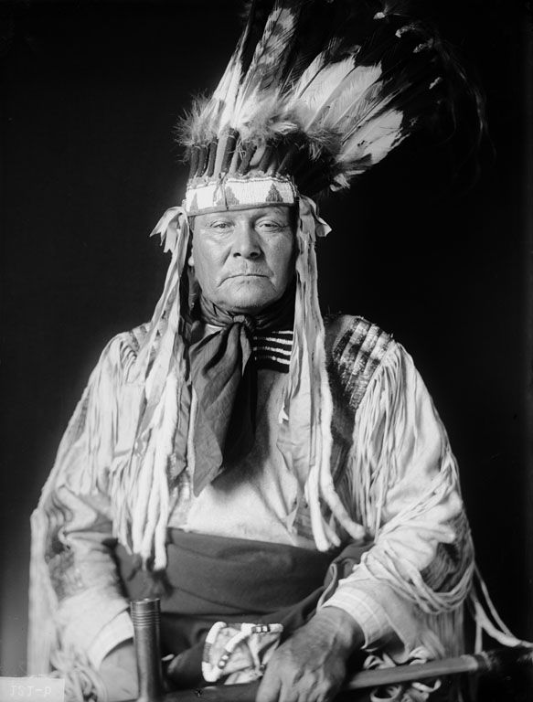 The American Indian known as Big Boy of the Arapaho Nation 1909.
