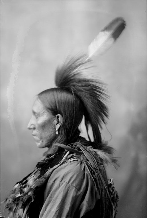 The American Indian known as Big Fox of the Arapaho Nation 1898.