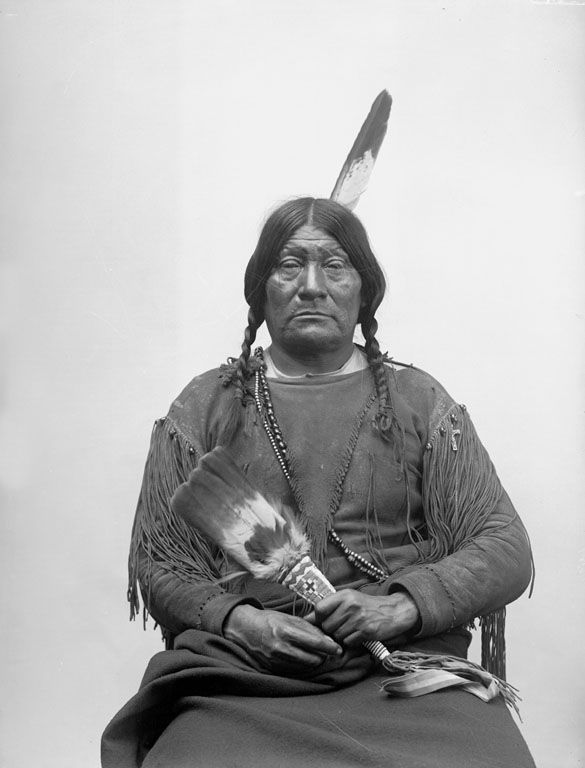 The American Indian known as Big Looking Glass of the Comanche Nation 1894.