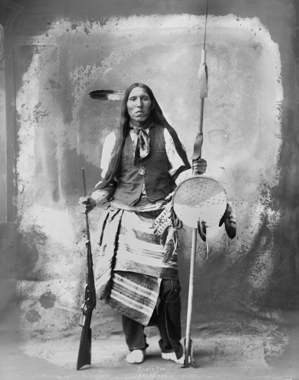 Black Fox - Arapaho 1898.